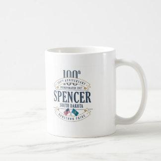 Spencer, tasse d'anniversaire du Dakota du Sud