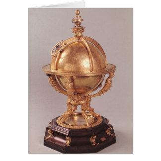 Sphère céleste, c.1580 cartes