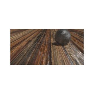Sphère sur le Tableau en bois Toile