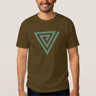 Spirale à angles t-shirts