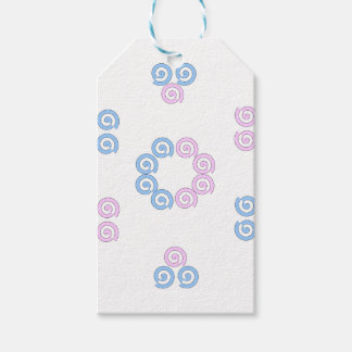spirale étiquettes-cadeau