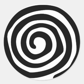Spirale Sticker Rond