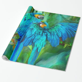 Spiritueux tropicaux - or et enveloppe de cadeau papiers cadeaux noël
