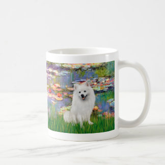Spitz esquimau 1 - lis 2 mug blanc