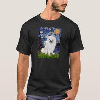 Spitz esquimau 1 - nuit étoilée (Vert) T-shirt