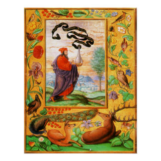 Splendeur Solis : Philosophe avec le flacon Affiches