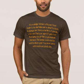 Spoilers de film t-shirt