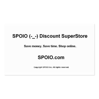 SPOIO.com - annonce de bizcard Cartes De Visite Personnelles