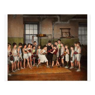 Sport - boxe - poings de la fureur 1924 prospectus 21,6 cm x 24,94 cm