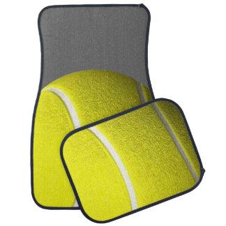 Sport de balles de tennis tapis de voiture