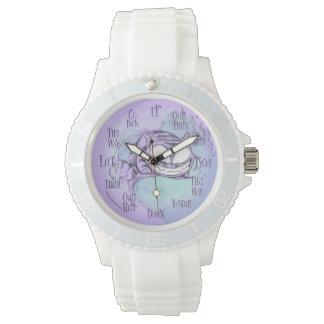Sport de blanc de montre de Cheshire Montres Bracelet