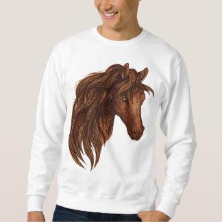 Sport de cheval de chevaux sweatshirt