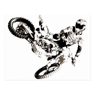 Sport de Motorcyle de motocross d'art de bruit Cartes Postales