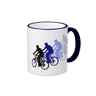 Sport - faire du vélo, faisant un cycle, vélo mug ringer