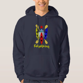 Sports aquatiques Kayaking - graphique orienté Veste À Capuche