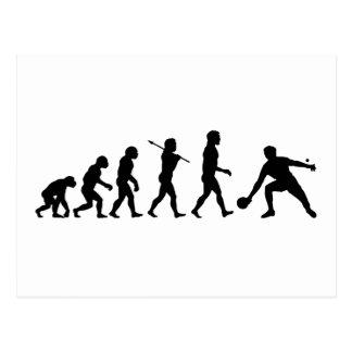 Sports d'amusement d'évolution de ping-pong carte postale