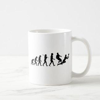 Sports d'amusement d'évolution de rugby mug blanc