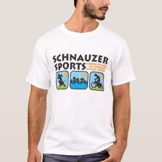 sports de schnauzer t-shirt