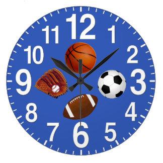 Sports - horloges murales orientées dans VOTRE