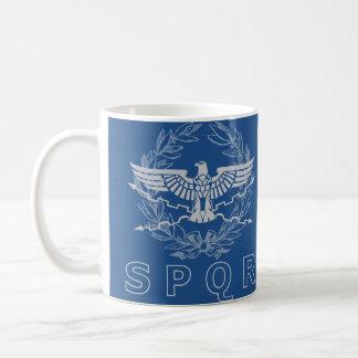 SPQR la tasse d'emblème d'empire romain