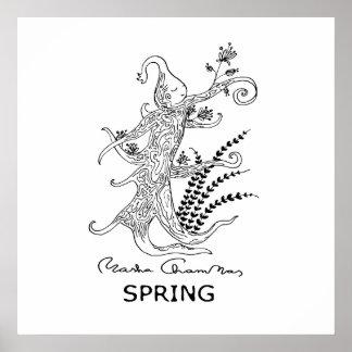 Spring, poster