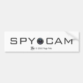 spycat, OBJECTIF DE CAMÉRA, ESPION FAO, animaux fa Autocollant De Voiture