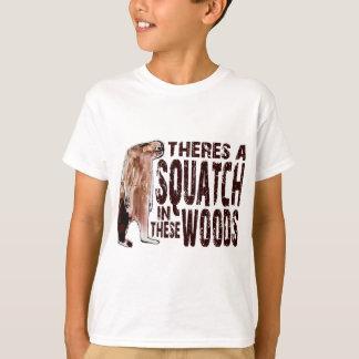 SQUATCH mignon EN CES BOIS - conclusion de la T-shirt