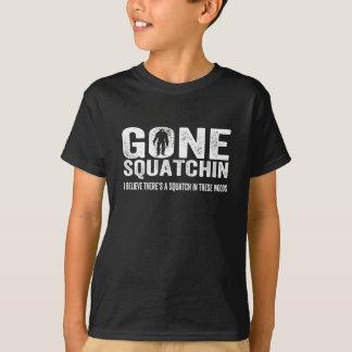 Squatchin allé (affligé) Squatch en ces bois T-shirt