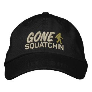 Squatchin allé - avoine bronzage et vert clair casquette brodée