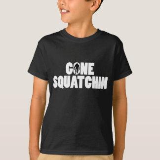 Squatchin allé badine le T-shirt foncé