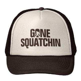 Squatchin allé - Brown/silhouette bronzage Casquettes De Camionneur