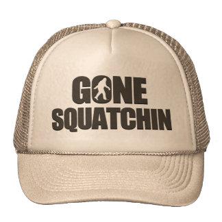 Squatchin allé casquettes de camionneur