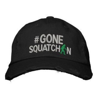 Squatchin allé et hashtag chapeau brodé