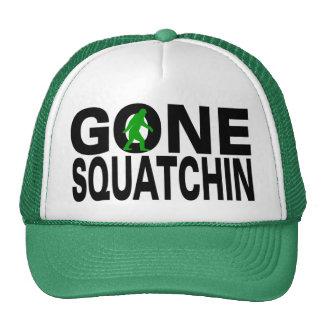 Squatchin allé (logo vert) casquette de camionneur