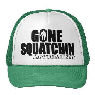 Squatchin allé par WYOMING - Bobo original Casquettes De Camionneur