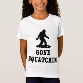 Squatchin allé, trouvant Bigfoot, Squatch T-Shirt
