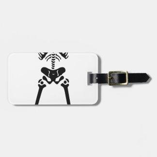 Squelette #2 étiquettes bagages