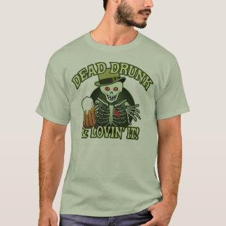 Squelette bu mort t-shirt