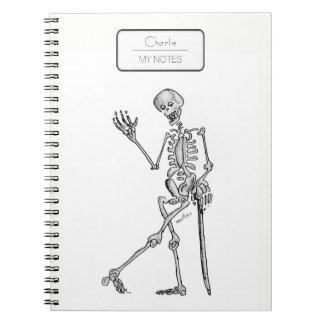 Squelette Carnet