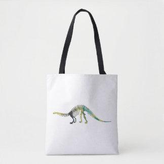 Squelette de dinosaure sac