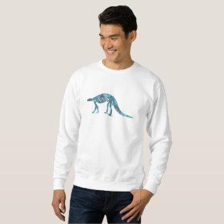 Squelette de dinosaure (Scelidosaurus) Sweatshirt