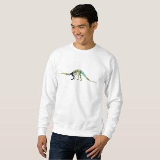 Squelette de dinosaure sweatshirt