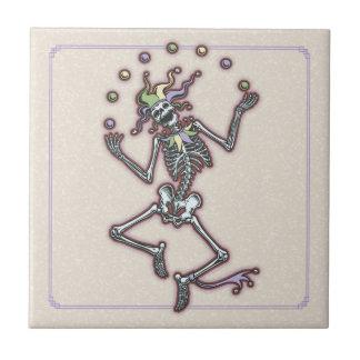 Squelette de jonglerie II de farceur Petit Carreau Carré