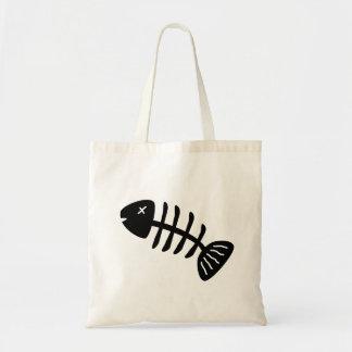 Squelette de poissons sac