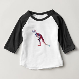 Squelette de Rex de Tyrannosaurus T-shirt Pour Bébé