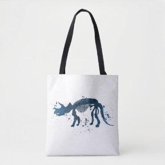 Squelette de Triceratops Tote Bag