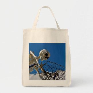 Squelette d'équitation de vélo sacs