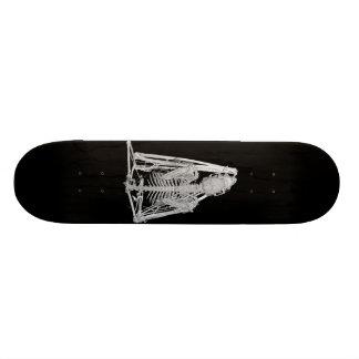 Squelette gothique de batte skateboard  20 cm