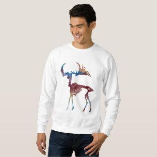 Squelette irlandais d'élans sweatshirt