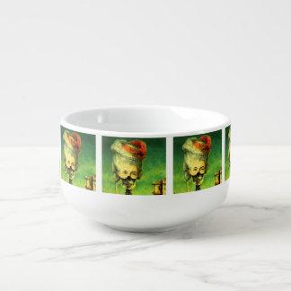 Squelette Masqué Mug à soupe